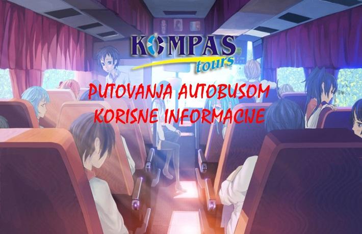 Putovanja autobusom – Korisne informacije