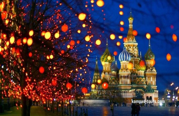 Rusija ✈ MOSKVA, 30.12.2019-04.01.2020