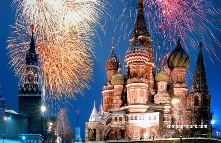 Rusija ✈ 🚂 ✈ MOSKVA i St. PETERBURG, 28.12.2019-04.01.2020