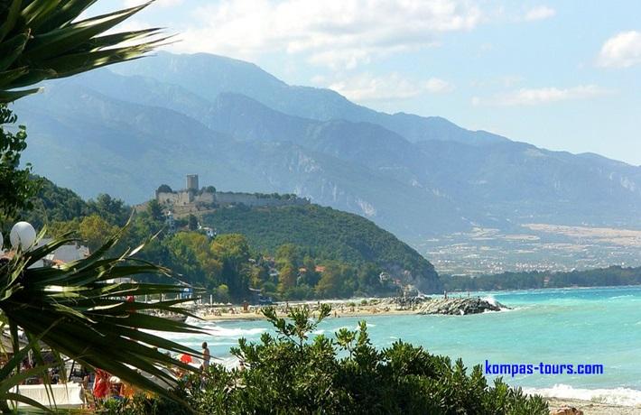 Grčka 🚌 Lutra, Olympic Beach, Nei Pori, Hanioti, Tasos, Nea Skioni, Evia, Paralia, Pefkohori