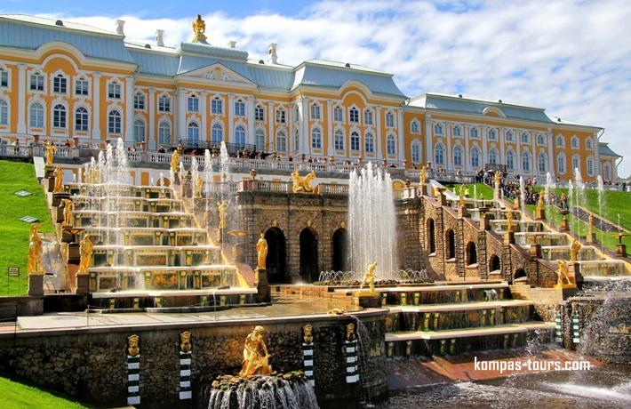 Rusija ✈ & 🚂 MOSKVA i St. PETERBURG 06.08-12.08.2021