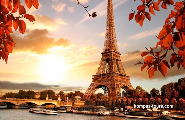 Francuska 🚌 PARIZ, 7 dana