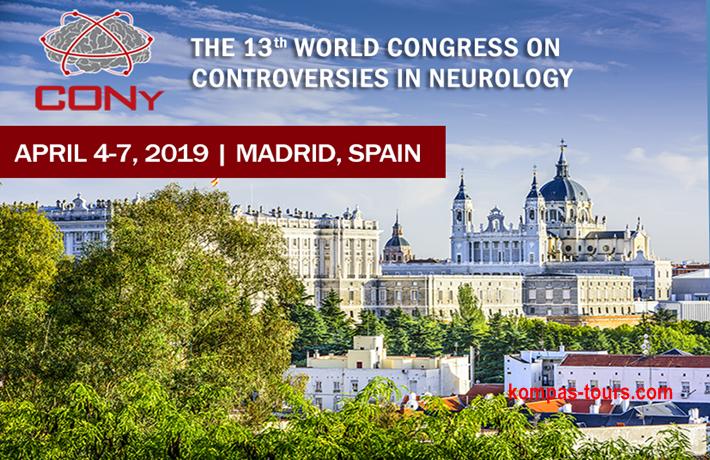 "Španija ✈ MADRID ""World Congress of Controversies in Neurology CONy 2019"", 5 dana/4 noći"