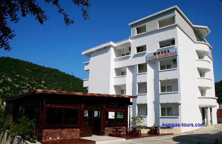 Crna Gora 🚘 ČANJ Hotel Vila BABOVIĆ