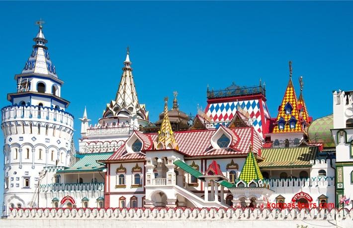 Rusija ✈ St. PETERBURG i MOSKVA, 28.04-05.05.