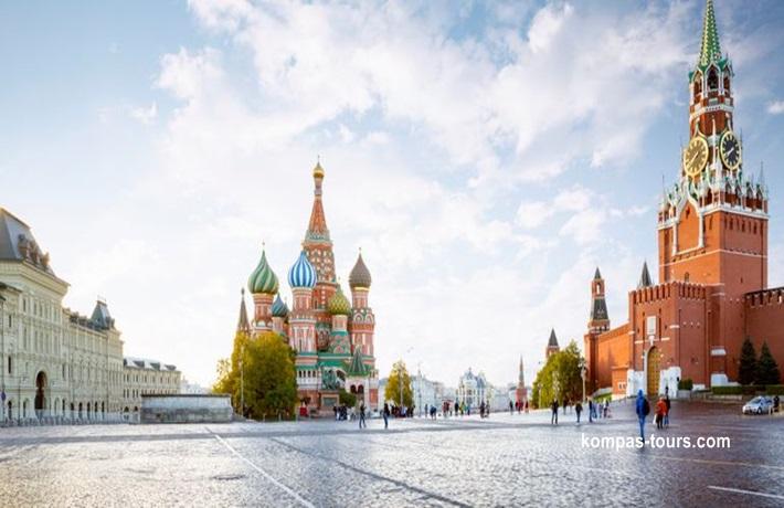Rusija ✈ 🚂 ✈ MOSKVA i St. PETERBURG, 21.06-27.06.2020