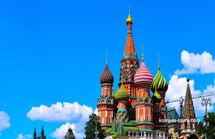 Rusija ✈ 🚂 ✈ MOSKVA i St. PETERBURG, 19.05-25.05.