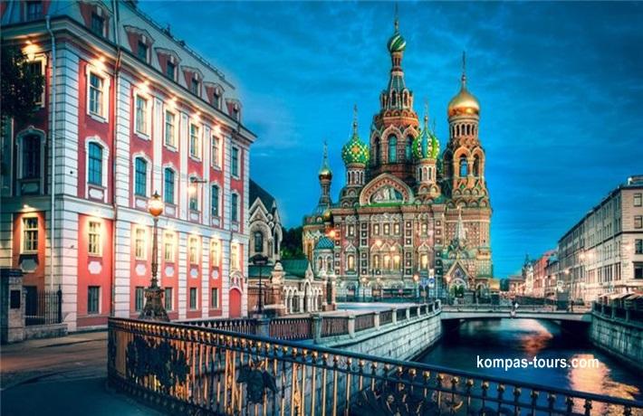 Rusija ✈ 🚂 ✈ MOSKVA i St. PETERBURG, 09.06-15.06.