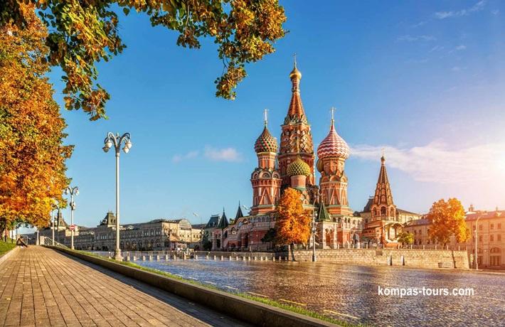 Rusija ✈ 🚂 ✈ MOSKVA i St. PETERBURG, 12.07-18.07.2020