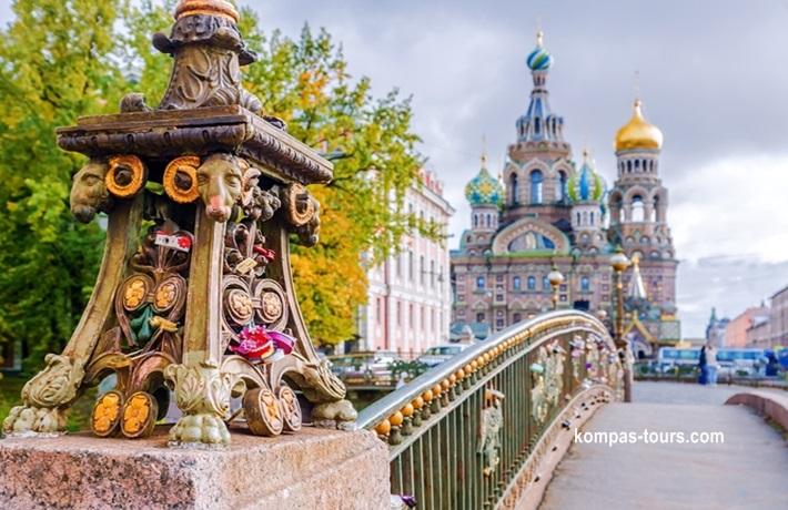 Rusija ✈ 🚂 ✈ St. PETERBURG i MOSKVA, 30.04-06.05.2020