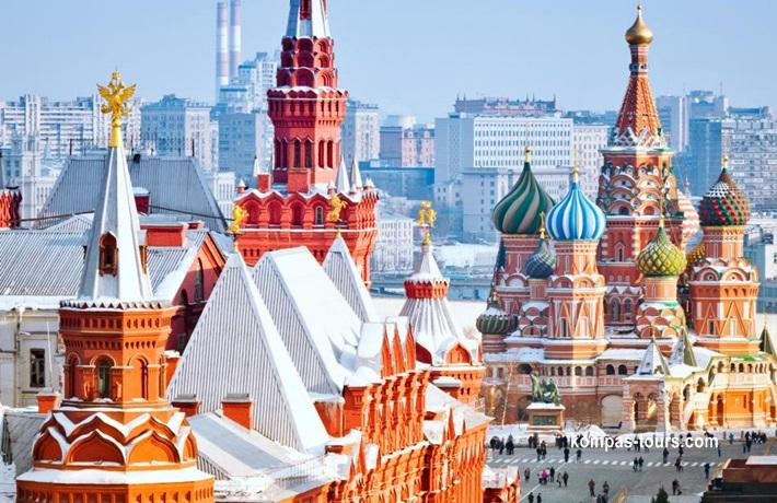 Rusija ✈ 🚂 ✈ MOSKVA i St. PETERBURG, 09.08-15.08.2020
