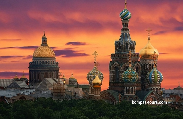 Rusija ✈ 🚂 ✈ MOSKVA i St. PETERBURG, 23.08-29.08.2020