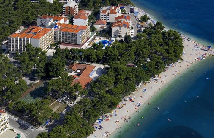 Hrvatska 🚘 Hotel HORIZONT 4* Baška Voda