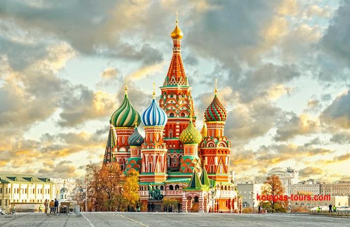 Rusija ✈ & 🚂 MOSKVA i St. PETERBURG 16.07-22.07.2021