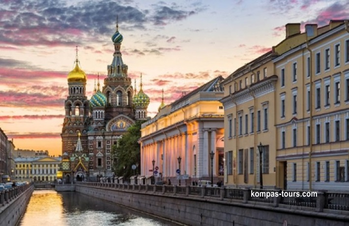 Rusija ✈ & 🚂 MOSKVA i St. PETERBURG 20.08-26.08.2021