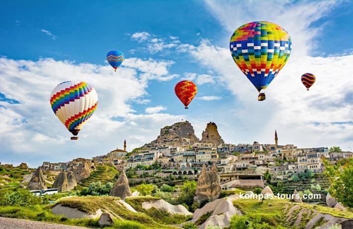 Turska ✈ KAPADOKIJA
