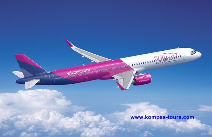 Wizz Air ✈ Letovi iz Tuzle