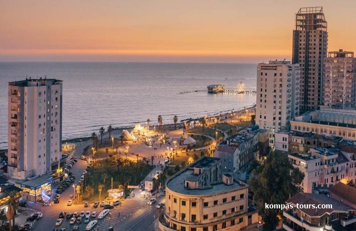 Albanija 🚌 DRAČ-Tirana-Kruja-Skadar