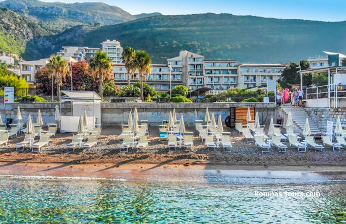 Crna Gora 🚘 Hotel PALAS 4* Petrovac