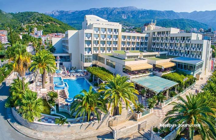 Crna Gora 🚘 Hotel MEDITERAN Bečići