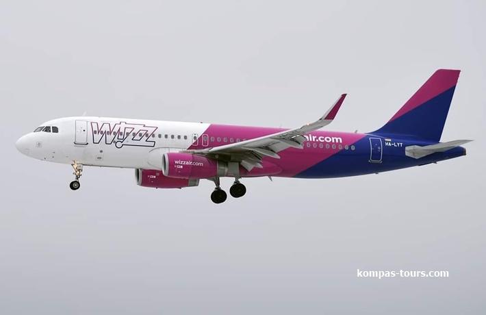 Wizz Air ✈ Letovi iz Banja Luke