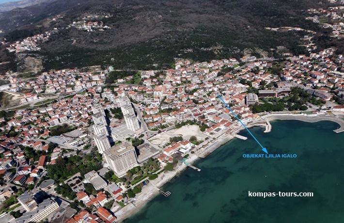 Crna Gora 🚘 Privatni smještaj LJILJA Igalo