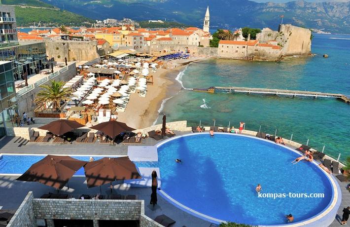 """Crna Gora 🚘 Hotel AVALA 4* Budva """"Paket za juni 2021"""""""