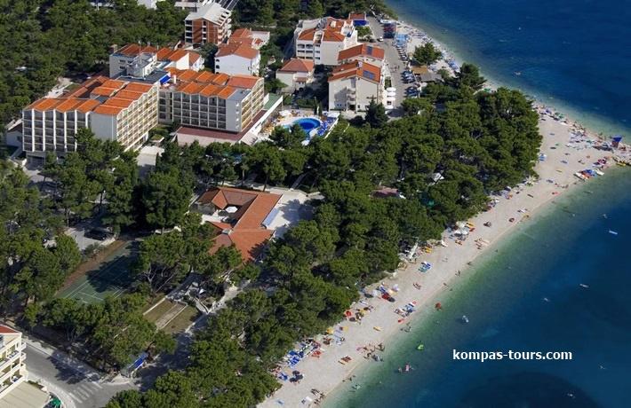 """Hrvatska 🚘 Hotel HORIZONT 4* Baška Voda """"Akcija"""""""