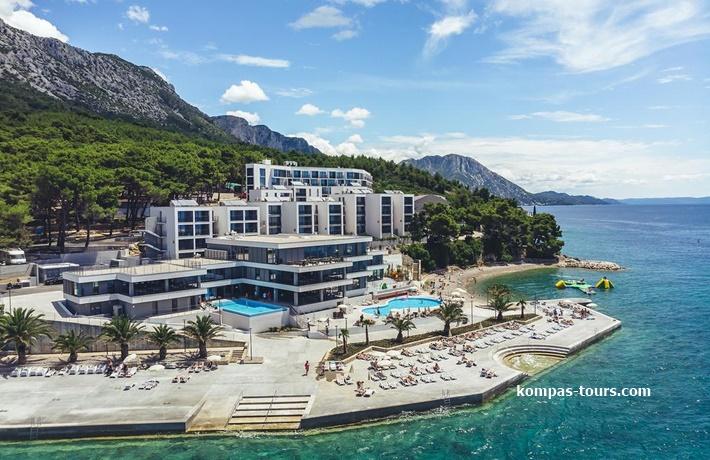 "Hrvatska 🚘 MORENIA Resort 4* Podaca ""Akcija"""