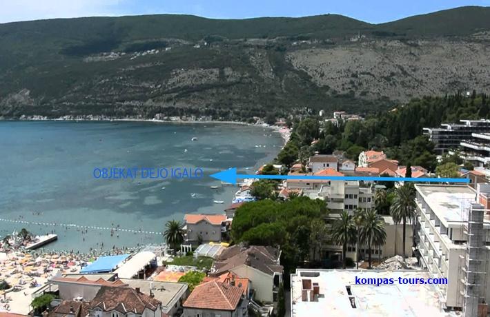 Crna Gora 🚘 Privatni smještaj DEJO Igalo