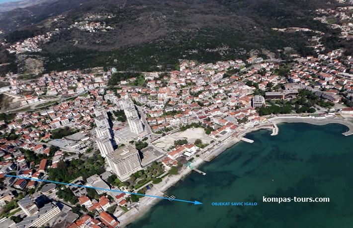 Crna Gora 🚘 Privatni smještaj SAVIĆ Igalo
